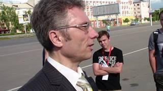 Куб Навального в Барнауле #11