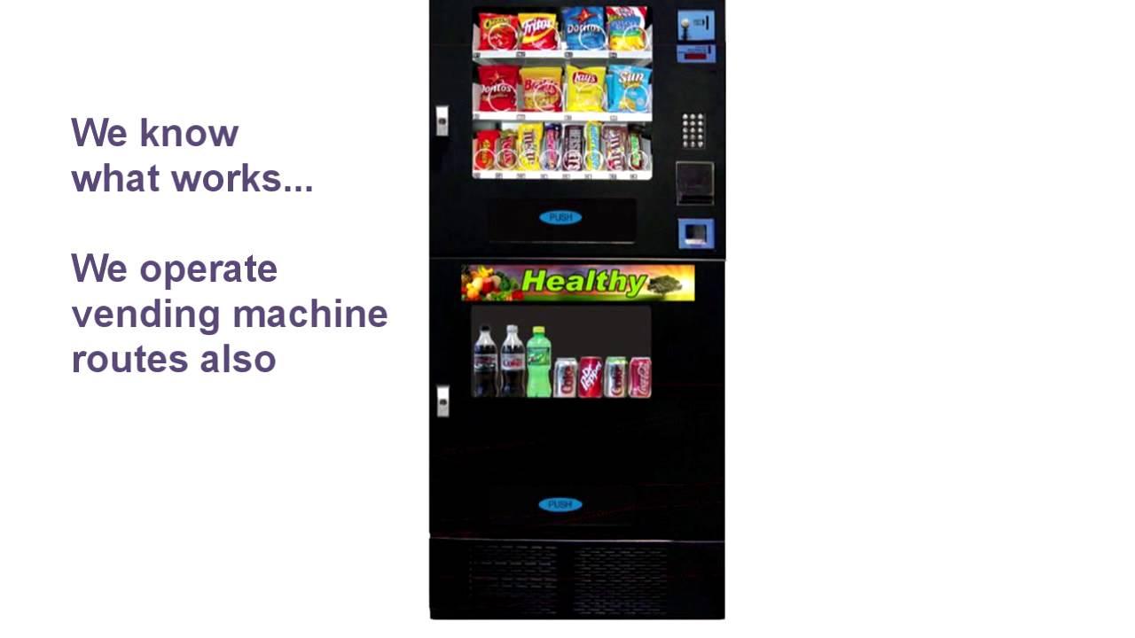 vending machine business income