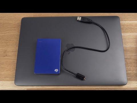 Лучший внешний жесткий диск для MacBook Pro - Seagate Backup Plus 5TB