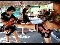 World Muay Thai Champion: Lamsongkram Chuwattana Hitting Pads