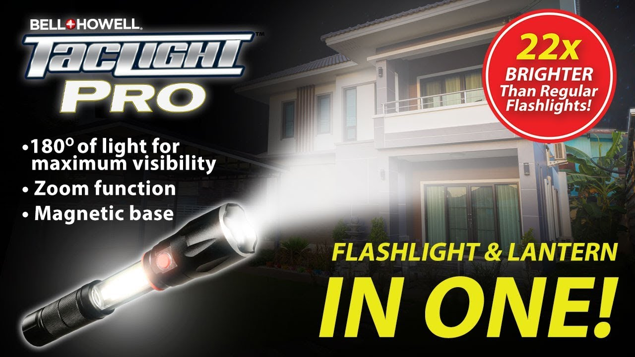 Taclight Pro - 2in1 Flashlight + Lantern