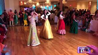 awesome sangeet dance
