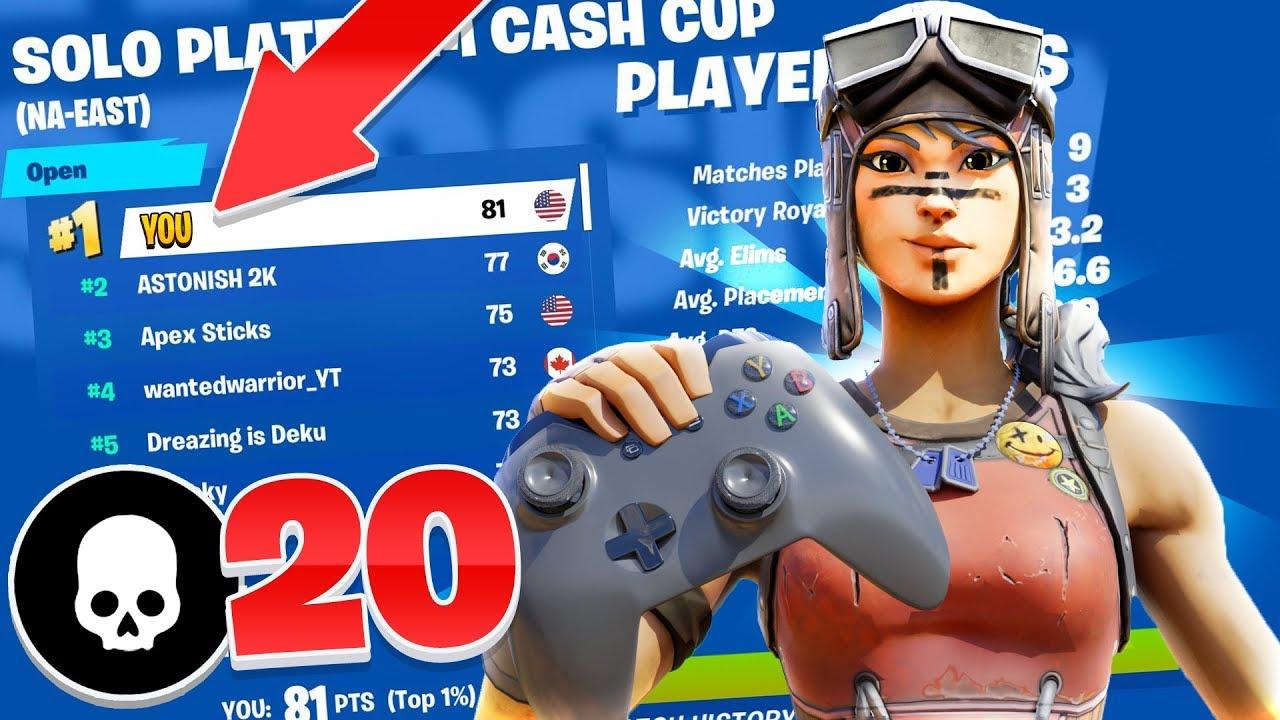 Wie Controller-Spieler bei Turnieren mit Cash Cups Geld gewinnen! (Tipps für Fortnite PS4 Xbox) + video