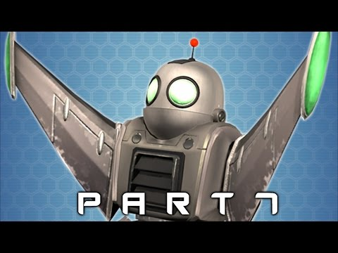Jetpack Unlocked in Ratchet and Clank Walkthrough Gameplay Part 7 (2016 PS4)