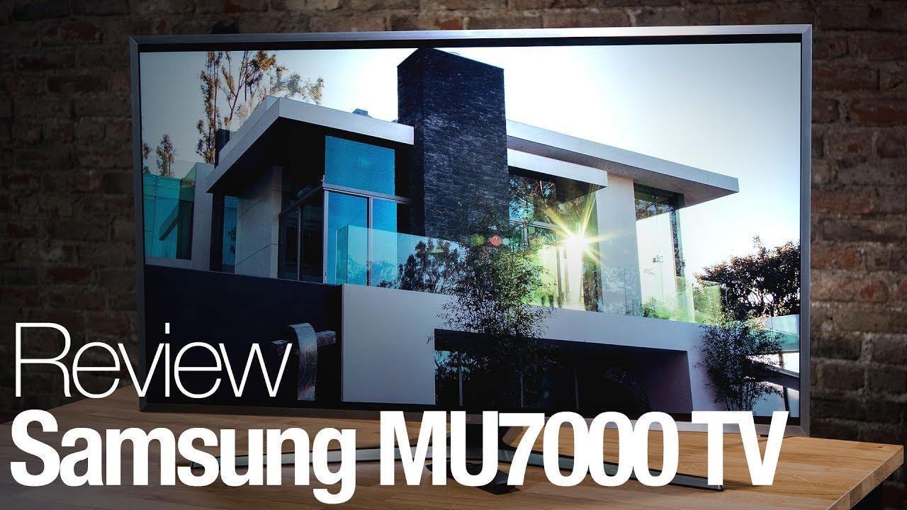 סופר Samsung MU7000 4K HDR TV Review - YouTube NC-22