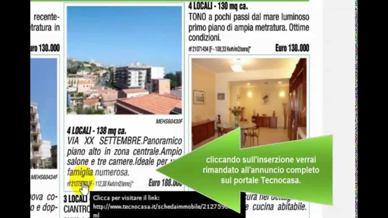 Casa & Co Milazzo tecnocasa milazzo - la rivista digitale - youtube