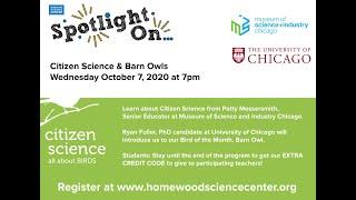 Spotlight On...Citizen Science & Barn Owls