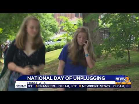 National Day of Unplugging Hit #4