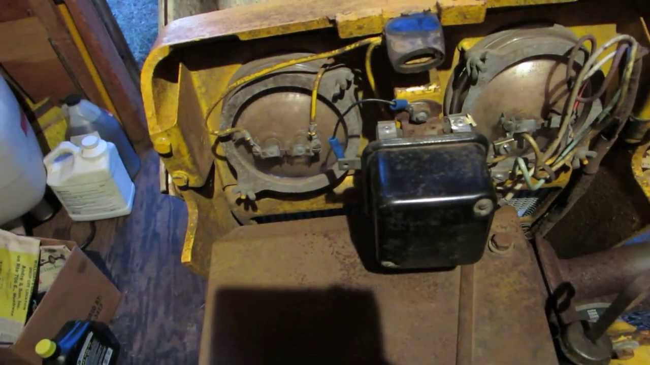 cub cadet voltage regulator jerry rig repair tech trick youtube rh youtube com cub cadet 129 voltage regulator wiring diagram no on the cub cadet starter  [ 1280 x 720 Pixel ]