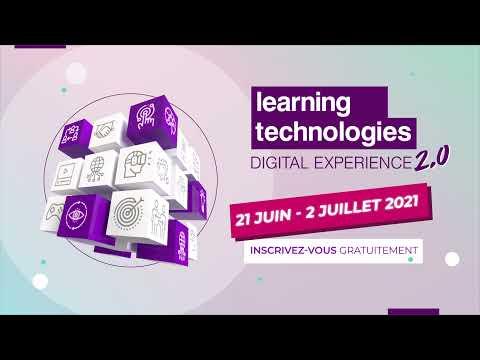 Inscrivez-vous gratuitement à Learning Technologies Digital Experience 2.0
