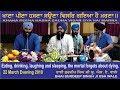 Khana Peena Hasna Sauna Visar Gya Hai Marna By Bhai Surdeep Singh Ji Usa Wale