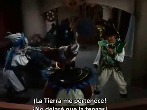 Zyurangers Bandora vs Green Ranger