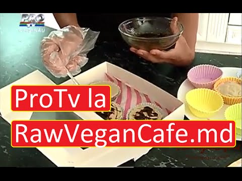 ProTv in vizita la prima cofetarie online RawVeganCafe.md