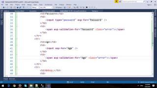 Model Validation in ASP NET Core MVC