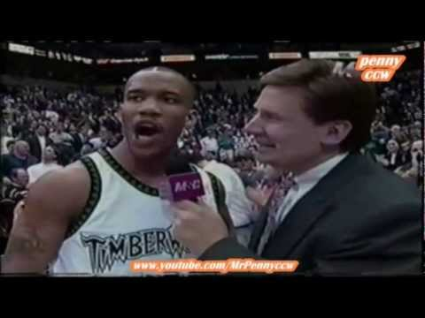 Allen Iverson vs. Stephon Marbury 96/97 NBA *1st  meeting between them *very rare