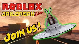 ROBLOX LIVE STREAM !!! - Jailbreak, Phantom Phorces and much more ! - COME JOIN THE FUN !!!!
