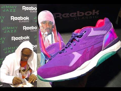 Rapper Camron Sneaker Release in Harlem 125st  | Reebok | jimmy jazz