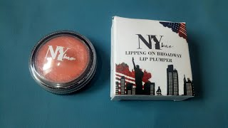NY Bae Lipping on Broadway Lip Plumper|NY Bae Lip Balm Review|Affordable LipBalm|LipBalm|Lip Plumper