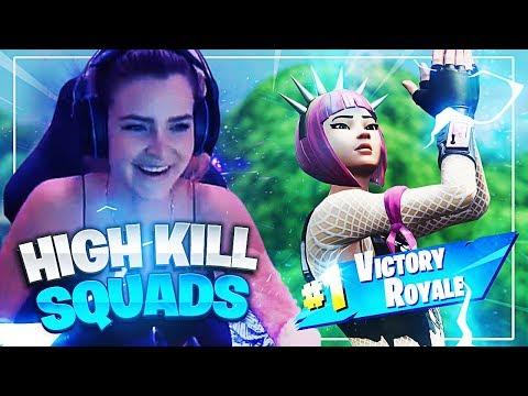 HIGH KILL SQUADS! w/ Diggy & Svennoss (Fortnite: Battle Royale) | KittyPlays