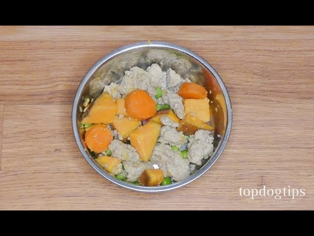 Homemade Dog Food for Itchy Skin - YouTube