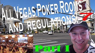 The Best Las Vegas Poker Rooms