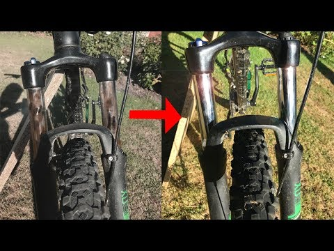 How To Clean Bike Suspension