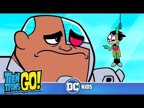 Teen Titans Go! En Español | La Pequeña Vida de Robin | DC Kids