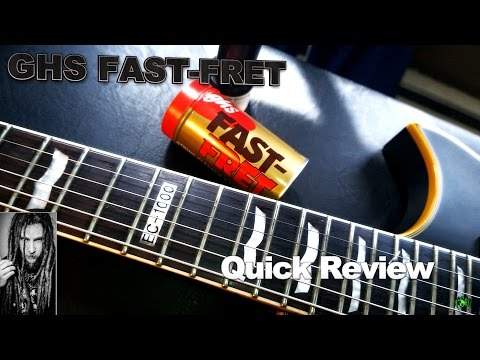 GHS FAST-FRET Quick Review - Guitar String Cleaner