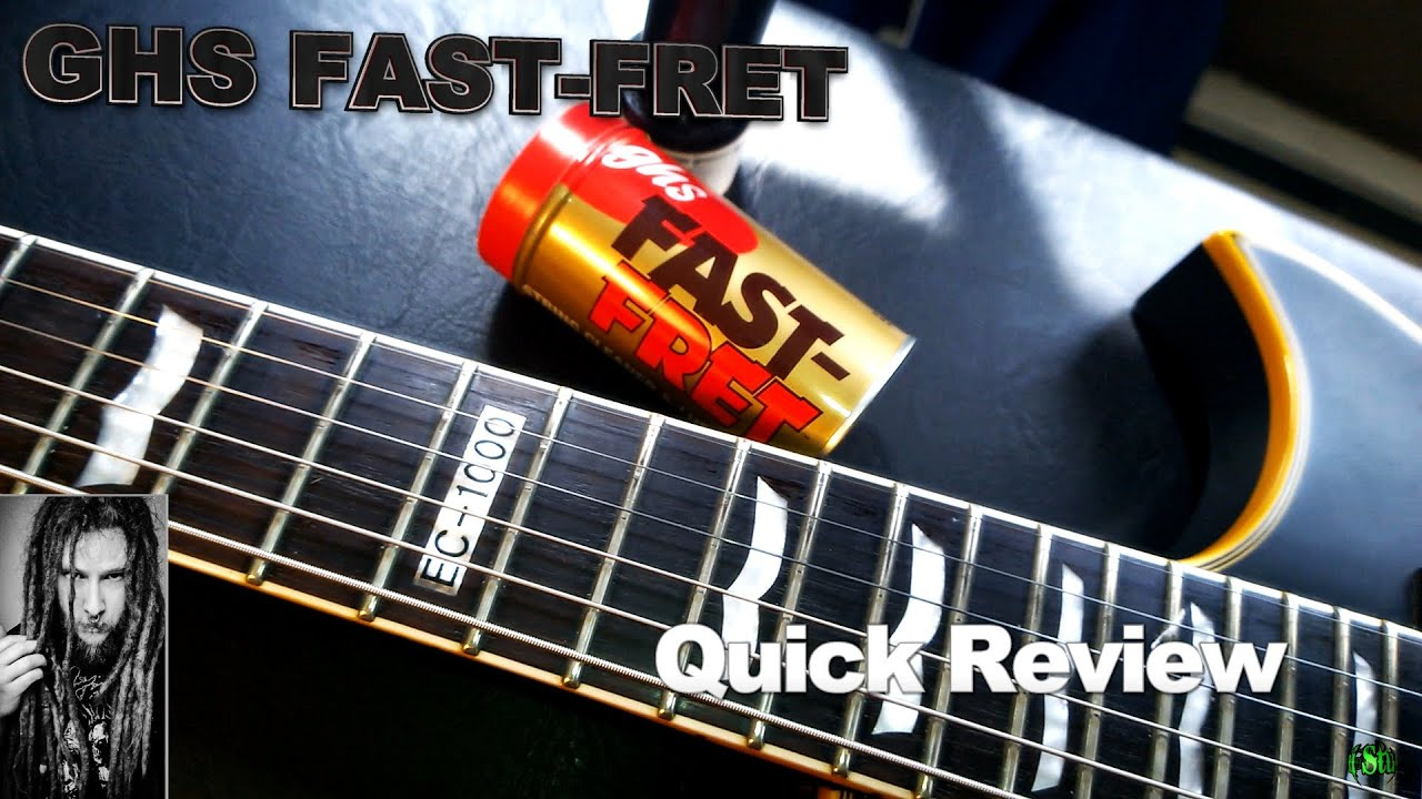 ghs fast fret quick review guitar string cleaner youtube. Black Bedroom Furniture Sets. Home Design Ideas