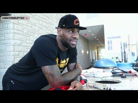 LeBron James Instagram Story | LeBron James Reacts to Signing $100 Million Dollar Contract with Cavs