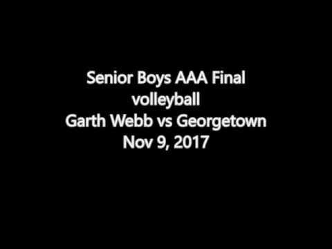 Halton Boys Volleyball Championships, Senior AAA Final, Nov 9 2017