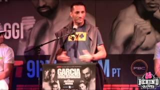 Danny Garcia vs Paulie Malignaggi FINAL PRESS CONFERENCE