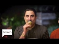 going off the menu reza farahan drinks a liquid dinner season 2 episode 3 bravo