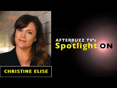 Christine Elise Interview | AfterBuzz TV's Spotlight On