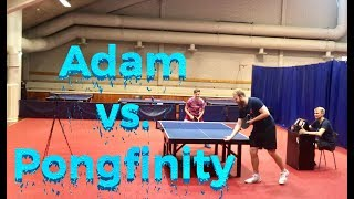 Adam vs. Pongfinity
