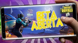 🔷 's OUT!!! NEW FORTNITE OPEN BETA FOR ANDROID COMPATIBLE DOWNLOAD!