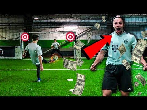 Wer zuerst TRIFFT gewinnt 500€ FUßBALL CHALLENGE!