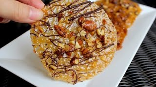 How To Make Chocolate Almond Florentines - Lace Cookie Recipe
