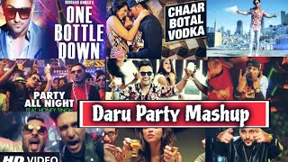 Daru Mashup Song 2018 | Party Mashup Song | Dj Dalal London | by Find Out Think