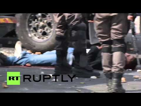 State Of Palestine: Israeli Forces Beat Palestinians In Ramallah, 129 Reported Injured