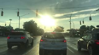 Summer Evening Drive to Beverly Hills, Michigan from Berkley, Michigan