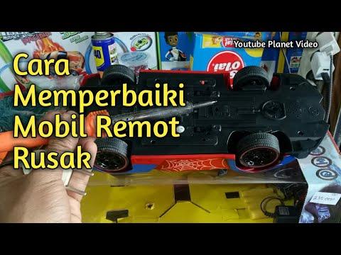 Cara Memperbaiki Mobil Remot How To Fix Rc Car Planet Toys Youtube