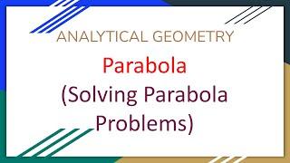 Download Solving Parabola Problems