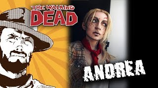 FFH Хобби: The Walking Dead. Собираем: Андреа