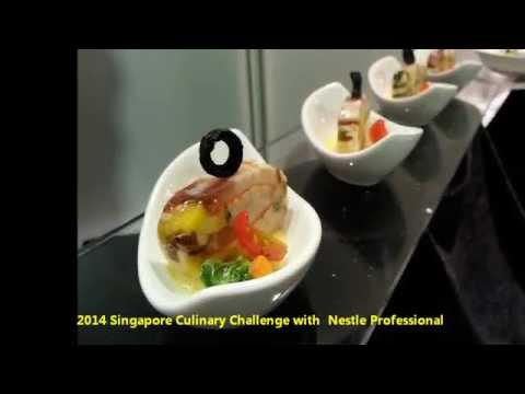 2014 Singapore Culinary Challenge with  Nestle Professional of KOREA