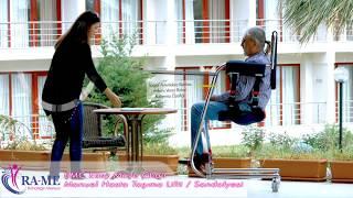 Çok Fonksiyonlu Manuel Hasta Taşıma Lifti