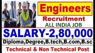 Engineers India Limited Recruitment 2018 // Latest Govt Jobs // Sarkari Naukari