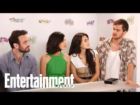 Defenders: Sigourney Weaver's Antagonist Role, Charlie Cox & More  SDCC 2017  Entertainment Weekly