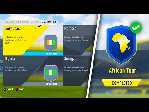 THE ELECTRUM PACKS! *NEW* AFRICAN TOUR SBC! (COMPLETED) FIFA 17 ULTIMATE TEAM