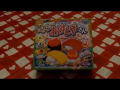 Fun with Popin Cookin! - DIY Sushi Candy Kit